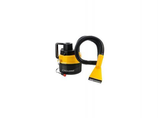 Автомобильный пылесос Rolsen RVC-300 без мешка сухая уборка 93Вт черно-желтый