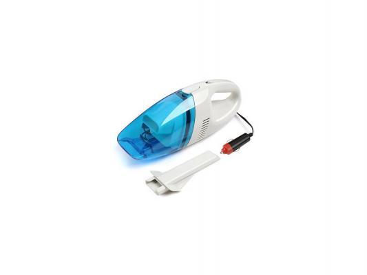 Автомобильный пылесос Rolsen RVC-100 без мешка сухая уборка 35Вт бело-голубой