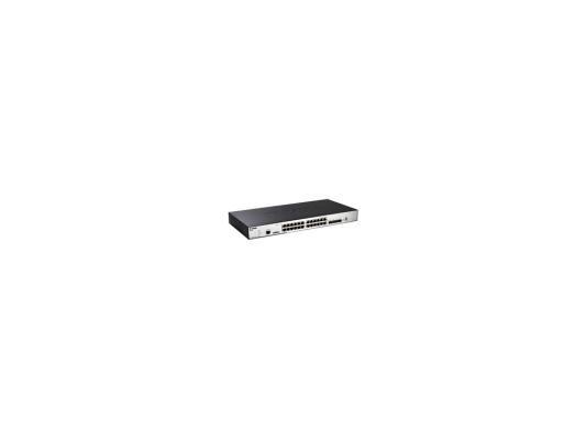 Коммутатор D-LINK DGS-3120-24TC/B1ARI управляемый 24 порта 10/100/1000Mbps коммутатор d link dgs 3120 24pc управляемый 2 уровня 20 портов 10 100 1000mbps 4xcombo sfp 2x10ge cx4