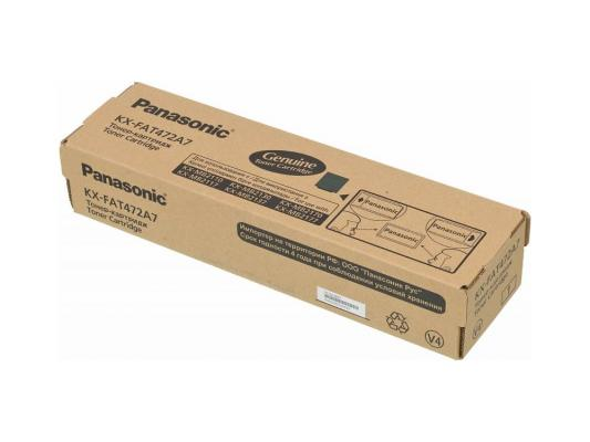 Тонер-картридж Panasonic KX-FAT472A7 для KX-MB2110/2130/2170 черный 2000стр привод передних колес 2110 12 2170 72 прав в сб trialli ar 770