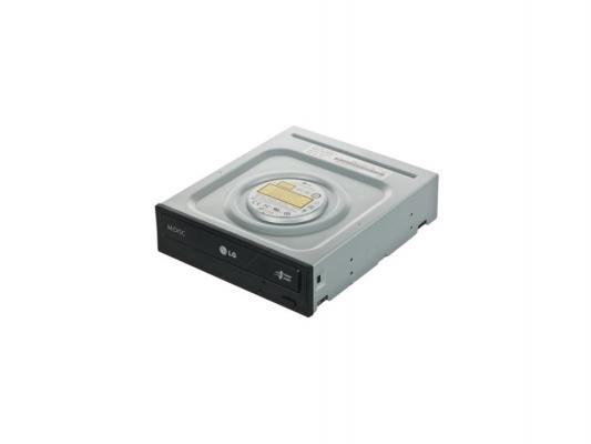 Привод для ПК DVD±RW LG GH24NSC/GH24NSD SATA черный OEM внешний dvd привод lg bp50nb40 black