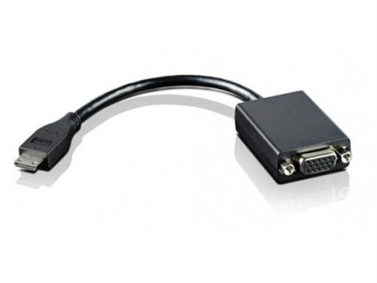 Адаптер Lenovo miniHDMI - VGA 4X90F33442