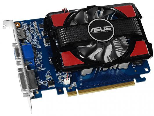 Видеокарта 2048Mb ASUS GeForce GT730 BRK с CUDA PCI-E 128bit GDDR3 DVI HDMI 90YV06K0-M0NA00 Retail