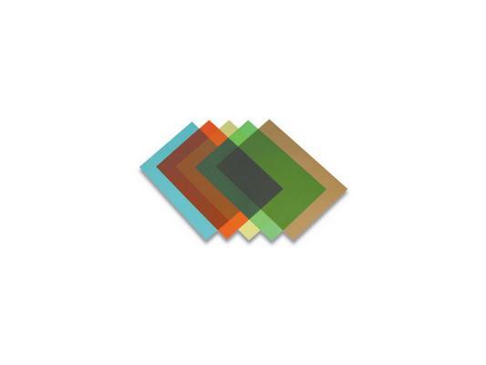 Обложка Fellowes Transparent A4 200мкм прозрачный синий 100шт FS-5377101