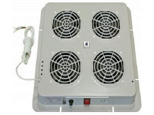 Вентиляторный модуль Estap E44HV4FTG 4 вентилятора термостат серый