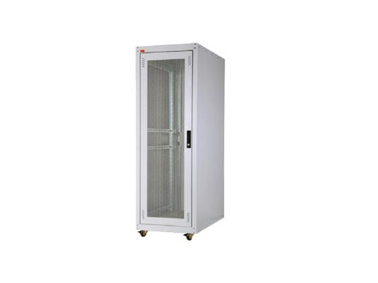 """Шкаф напольный 19"""" 36U Estap ECOline ECO36U61GF1R1 600x1000mm серый"""