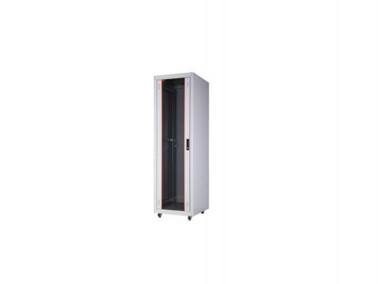 """Шкаф напольный 19"""" 16U Estap ECOline ECO16U68GF1R1 600x800mm серый"""