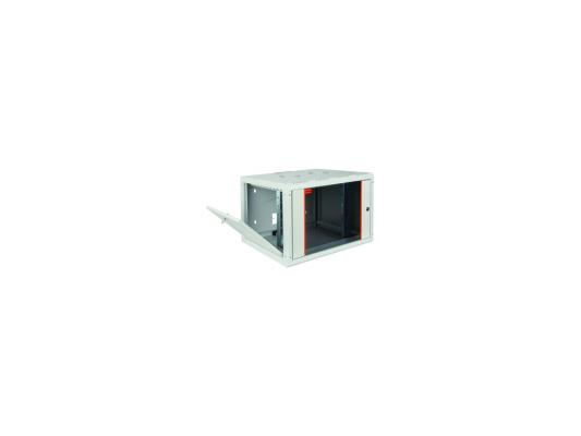 """Шкаф настенный 19"""" 12U Estap PROline PRL12U56GF1 600x560mm серый"""