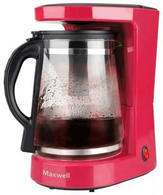 Кофеварка Maxwell MW-1656 BD красный