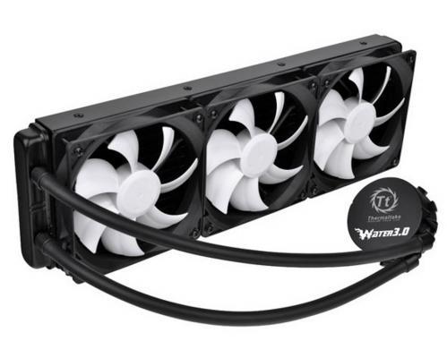 Водяное охлаждение Thermaltake Water Cooler Water 3.0 Ultimate CL-W007-PL12BL-A Socket 1150/1155/1156/1366/2011/AM2/AM2+/AM3/AM3+/FM1/FM2
