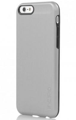Чехол (клип-кейс) Incipio Feather Shine для iPhone 6 серебристый IPH-1178-SLVR
