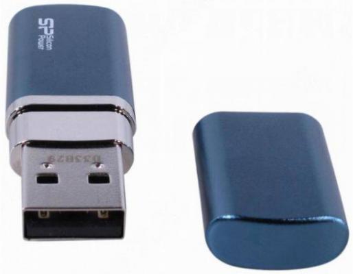 Флешка USB 64GB Silicon Power Luxmini 720 SP064GBUF2720V1D синий