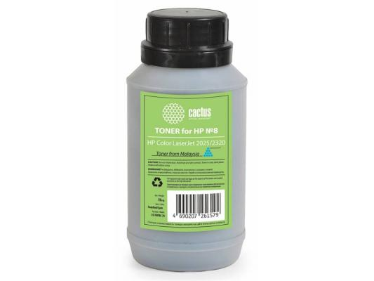 Тонер Cactus CS-THP8C-70 для HP Color LaserJet 2025/2320 голубой 70гр