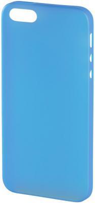 Чехол (клип-кейс) HAMA Ultra Slim для iPhone 5C голубой 119008