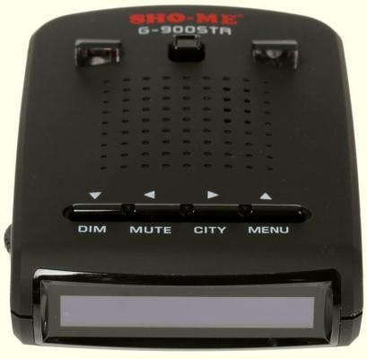 Радар-детектор Sho-Me G-900STR красный