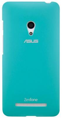 Чехол Asus для ZenFone A500 PF-01 COLOR CASE голубой 90XB00RA-BSL2I0 asus asus 90xb00ra bsl390 чехол бампер полиуретан голубой