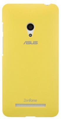 Чехол Asus для ZenFone A500 PF-01 COLOR CASE желтый 90XB00RA-BSL2J0 asus asus 90xb00ra bsl390 чехол бампер полиуретан голубой