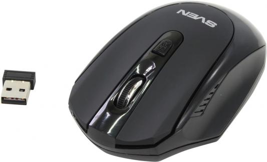 Мышь беспроводная Sven RX-315 чёрный USB sven 315 черный