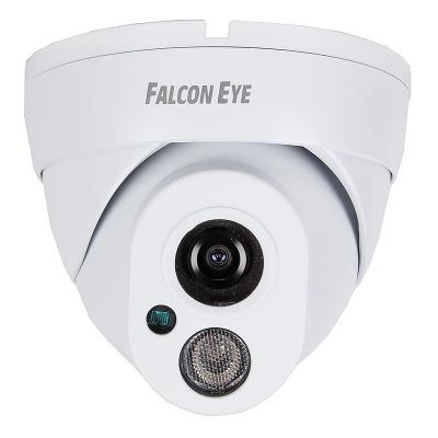 "Камера IP Falcon EYE FE-IPC-DL200P CMOS 1/2.8"" 1920 x 1080 H.264 RJ-45 LAN PoE белый"