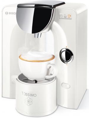 Кофемашина Bosch TAS5544EE 1300Вт,1.6л. белый
