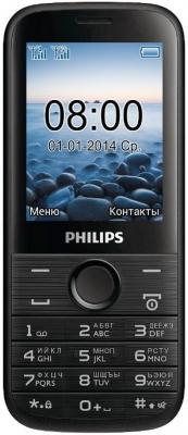"""Мобильный телефон Philips E160 черный 2.4"""""""