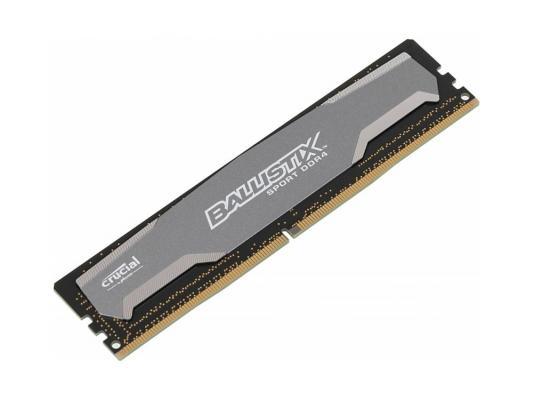 Оперативная память 4Gb PC4-19200 2400MHz DDR4 DIMM Crucial Ballistix Sport CL16 BLS4G4D240FSA