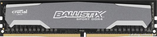 все цены на  Оперативная память 8Gb PC4-19200 2400MHz DDR4 DIMM Crucial Ballistix Sport CL16 BLS8G4D240FSA  онлайн