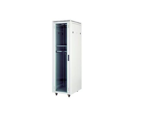 """Шкаф напольный 19"""" 22U Estap Universal Line CKR22U66GF1R1 600x600mm серый"""