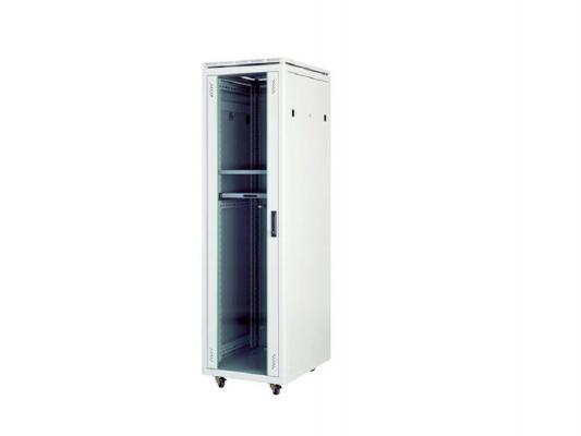 """Шкаф напольный 19"""" 26U Estap Universal Line CKR26U66GF1R2 600x600mm серый"""