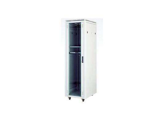 """Шкаф напольный 19"""" 47U Estap Universal Line CKR47U61GF1R2 600x1000mm серый"""