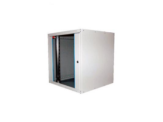 """Шкаф настенный 19"""" 12U Estap ECOline ECO12U450GF1 600x450mm серый"""