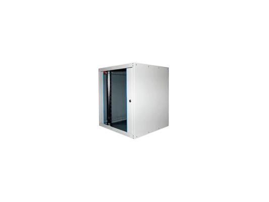 """Шкаф настенный 19"""" 16U Estap ECOline ECO16U450GF1 600x450mm серый"""