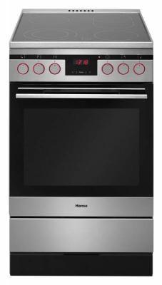 Электрическая плита Hansa FCCX58225 серебристый плита электрическая hansa fceb53000