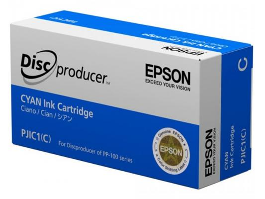 Картридж Epson C13S020447 для Epson PP-100/100AP/100II/100N/100N Security/50 голубой new ink cartridge chip resetter for epson pp100 pp 100 pp100n pp100ap pp 100ap printer resetter