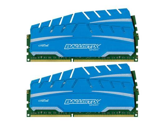 Оперативная память 32Gb(4х8Gb) PC3-14900 1866MHz DDR3 DIMM Crucial BLS4C8G3D18ADS3BEU
