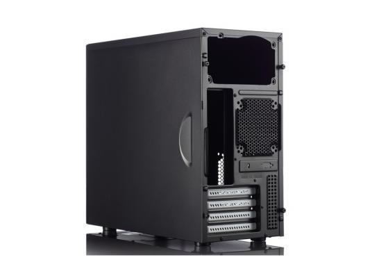 Корпус microATX Fractal Design Core 1100 Без БП чёрный FD-CA-CORE-1100-BL