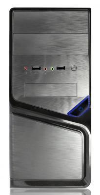 Корпус microATX Super Power Winard 5819 350 Вт чёрный серый корпус atx super power winard 3040 c 450 вт чёрный серебристый