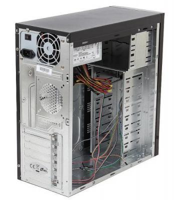 Корпус microATX Super Power Winard 5819 350 Вт чёрный серый