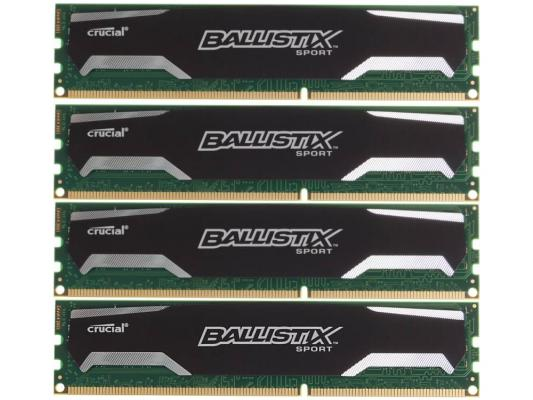 Оперативная память 32Gb (4х8Gb) PC3-12800 1600MHz DDR3 DIMM Crucial BLS4CP8G3D1609DS1S00BEU wild color vc1408 skulls patterned outdoor cycling v shaped headband face mask neck scarf