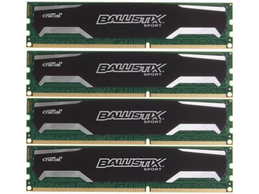 Оперативная память 32Gb (4х8Gb) PC3-12800 1600MHz DDR3 DIMM Crucial BLS4CP8G3D1609DS1S00BEU