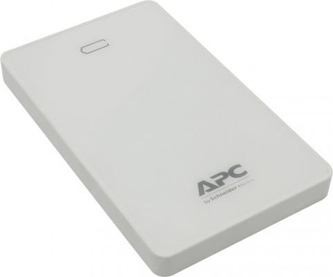 Портативное зарядное устройство APC Mobile Power Pack 10000mAh Li-polymer EMEA/CIS/MEA белый M10WH-EC
