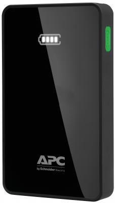 Портативное зарядное устройство APC Mobile Power Pack 5000mAh Li-polymer EMEA/CIS/MEA черный M5BK-EC original romoss polymos05 5000mah dual usb li polymer power bank