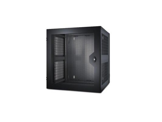 Шкаф APC NetShelter 13U 584ммx6220мм Wall Mount Enclosure with Glass door черный AR100