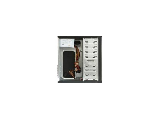 Корпус ATX Super Power 3029 C 450 Вт серебристый чёрный