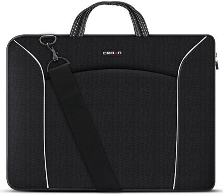 "Сумка для ноутбука 15.6"" Crown CMB-435 синтетика черный"