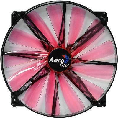 Вентилятор Aerocool Lightning 200mm красная подсветка 4713105951387