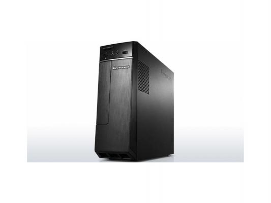 Системный блок Lenovo H30-00 J1800 2.41GHz 2Gb 500Gb Intel HD DOS черно-серебристый 90C2000GRS