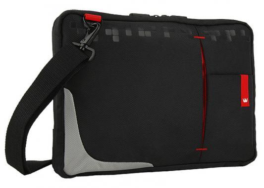 "Сумка для ноутбука 10.2"" Crown CMSBG-4410B синтетика черный"
