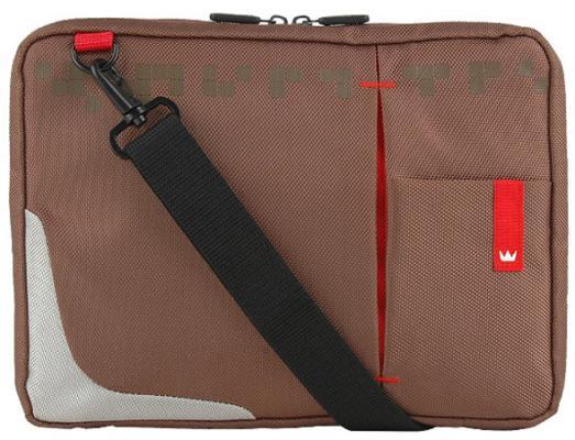 Сумка для ноутбука 10.2 Crown CMSBG-4410BN синтетика коричневый сумка для ноутбука 17 crown cmb 558 синтетика черный