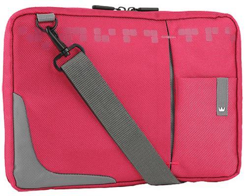 "Сумка для ноутбука 10.2"" Crown CMSBG-4410P синтетика розовый"